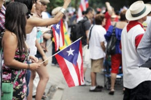NEW YORK CITY, USA - JUNE 10: The annual Puerto Rican Day Parade