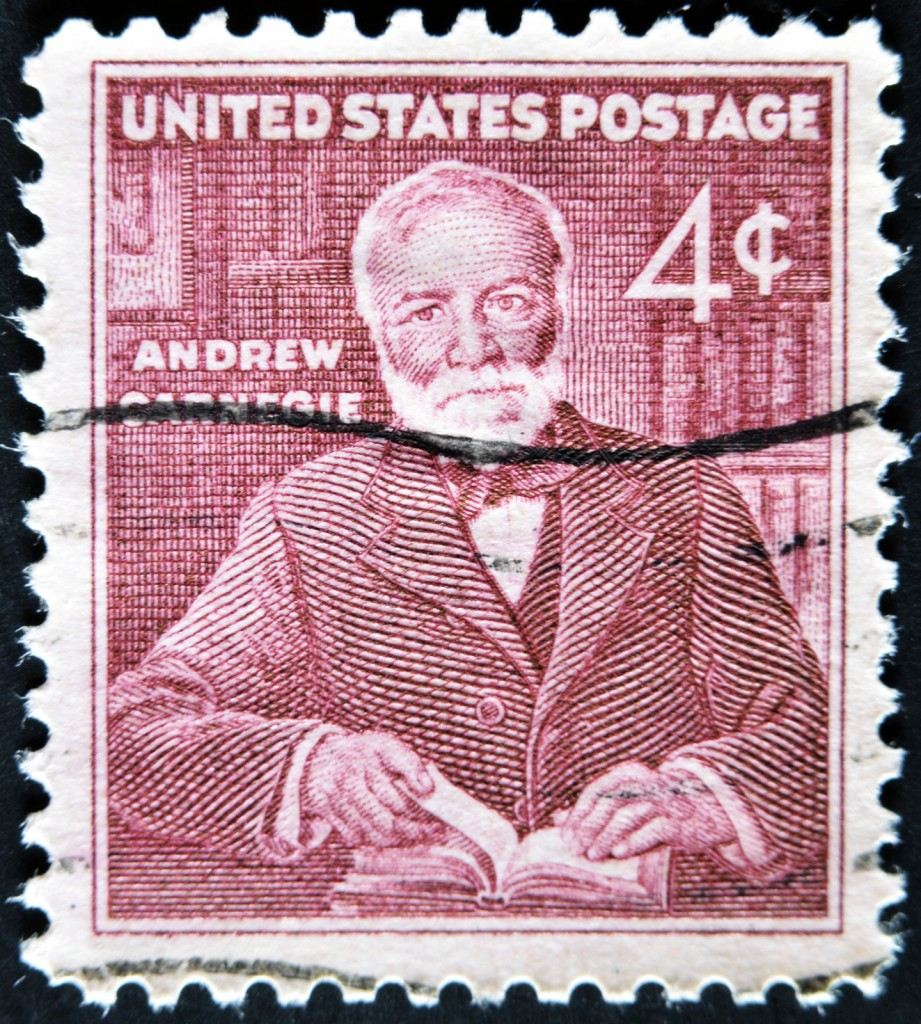 United States - Circa 1960: Stamp Printed In Usa, Shows Andrew C